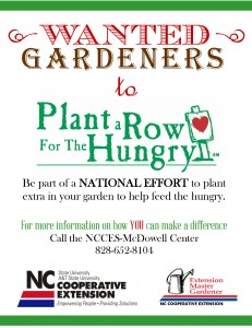 Cover photo for Plant a Row for the Hungry