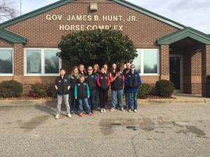 Cover photo for McDowell Ride IT! 4-H Club Competes at NC 4-H State Horse Bowl and Hippology Competition
