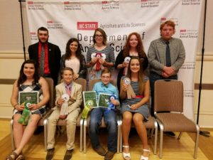 Cover photo for 2019 N.C. 4-H Livestock Contest