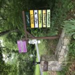 Sweet Betsy Farm signage
