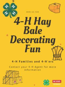 4-h hay bale flyer