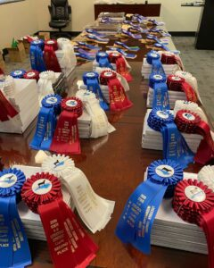 Cover photo for McDowell County Wins State 4-H Livestock Judging Contest