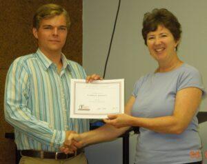 Cameron Johnson awarded EMGV scholarship