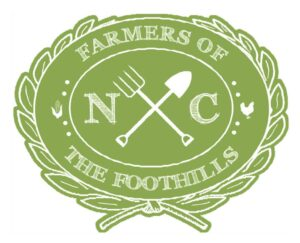 NC Farmers of the Foothills logo