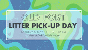 Old Fort litter pickup day