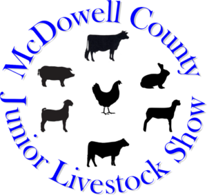 Cover photo for 75th Annual McDowell County Junior Livestock Show