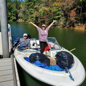 Lake James Clean Up