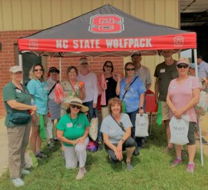 Master Gardeners of McDowell County at Tomato Field Day 2021