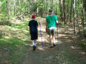 Adult & youth hiking
