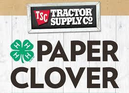 4-H Paper Clover Campaign logo